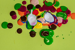 Paint blurb (Rushay) Tags: abstract mix colorful backgrounds green paint portelizabeth southafrica