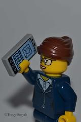 Phone calls (317/365) (Tas1927) Tags: 365the2018edition 3652018 day317365 13nov18 lego minifigure minifig