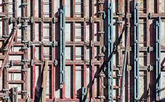 Concretize (jaxxon) Tags: 2018 d610 nikond610 jaxxon jacksoncarson nikon nikkor lens pro abstract abstraction nikkor70200mmf28e nikon70200mmf28e afsnikkor70200mmf28efledvr fledvr f28e 70200 70200mm 70200mmf28 f28 28 afs vr zoom telephoto construction framework mold structure metal concrete pour wall retainingwall industrial largescale geometric rectillinearl lines bars beams jobsite site build reinforcement