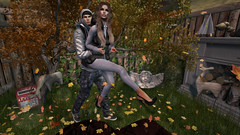 .. Fall In Love .. (【◎】Bloggers of SL) Tags: tannenbaum mowie nativeurban legalinsanity stealthic famefemme egozy