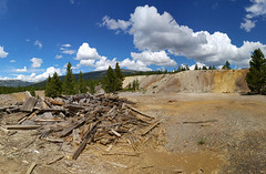 Mining Ruins along Route of the Silver Kings, Leadville, CO 2 (16) (chfstew) Tags: chfstew colorado colakecounty ruins