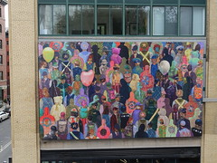 201810023 New York City Meatpacking District High Line Park Art (taigatrommelchen) Tags: 20181040 usa ny newyork newyorkcity nyc manhattan meatpackingdistrict highline urban city art