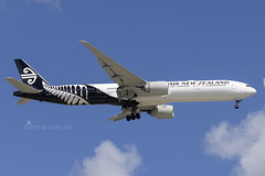 ZK-OKO B773 AIR NEW ZEALAND YBBN (Sierra Delta Aviation) Tags: air new zealand brisbane airport boeing b773 ybbn zkoko