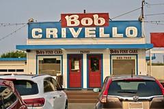 Bob's Fine Cars, Eureka, CA (Robby Virus) Tags: eureka california ca bob crivello bobs fine cars used lot dealer dealership neon sign signage
