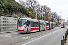 BRN_1934_201811 (Tram Photos) Tags: skoda škoda 13t brno brünn strasenbahn tram tramway tramvaj tramwaj mhd šalina dopravnípodnikměstabrna dpmb