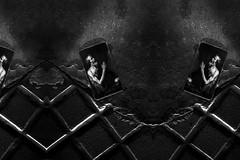 (santosloza.com) Tags: blancoynegro noche calle night street bw wb monochrome dark low deep skull floor buenosaires argentina fujifilm fuji x100t