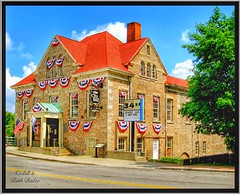 Lockport New York - Old City Hall - Historic Building (Onasill ~ Bill Badzo - 62 Million - Thank You) Tags: tea parlor closed lockport ny newyork canal town oldcityhall niagaracounty nrhp former mill benjamin moore company 1884 water pumping plants hollywater 1893 cafe restaurant burger historic building barge oldcanalraceway locks flour vintage old photo onasill sky clouds blue eriecanal lock house