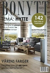 Magazine (aninesyrstad) Tags: nydalen oslo norway magazine frontpage inspiration cabin interieur green white gray