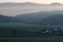 fading (Sergey S Ponomarev) Tags: sergeyponomarev travel germany landscape paysage paesaggio landschaft rural countryside 2018 europe canon eos 70d spring alfeld tourism 70200mm buildings hills сергейпономарев пейзаж германия европа путешествия рассвет закат sunset sunrise