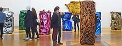 Cesar (albyn.davis) Tags: paris museum pompidou art sculpture cesar people colors bright vivid vibrant light panorama