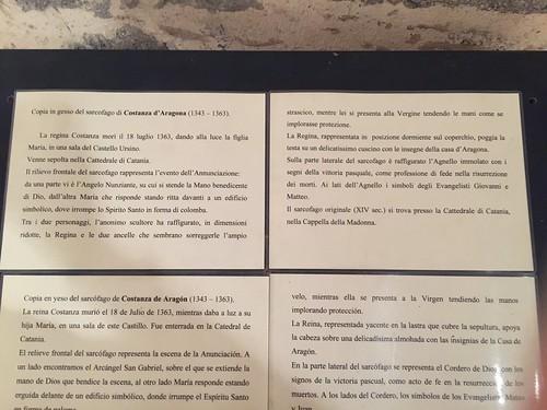 Sarcofago di Constanza d'Aragona
