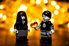 Black and white love (Ballou34) Tags: 2018 7dmark2 7dmarkii 7d2 7dii afol ballou34 canon canon7dmarkii canon7dii eos eos7dmarkii eos7d2 eos7dii flickr lego legographer legography minifigures photography stuckinplastic toy toyphotography toys skærbæk danemarkdusud danemark dk stuck in plastic black white love heart
