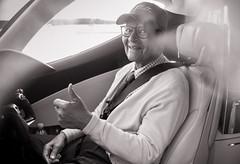 Colonel Charles McGee Turns 99 (Eddie K. Photo) Tags: colonel charles mcgee tuskegee airmen airman red tails p51 mustang veteran wwii world war ii aviation 99 birthday glenn gonzales hondajet rolls royce ghost signature flight support dulles ha420