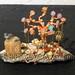 """""""Charmed Tree-Shells Sea"""" by Gypsyfied, mixed media, $50.00"""