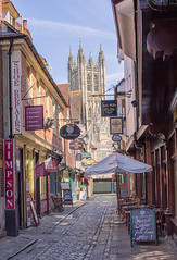 Butchery Lane, Canterbury, England