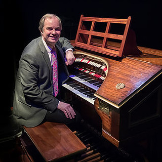 MIchael Wooldridge with the Rye Wurlitzer