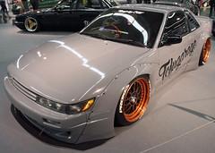 180SX (Schwanzus_Longus) Tags: essen motorshow german germany asia asian japan japanese modern car vehicle coupe coupé nissan 180sx silvia