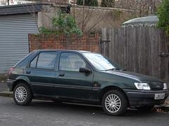 1993 Ford Fiesta 1.1 LX (Neil's classics) Tags: vehicle 1993 ford fiesta 11 lx car