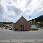 木造仮設建築物の写真