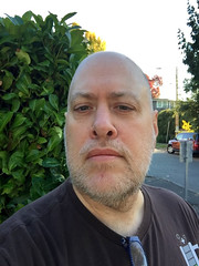 Day 2474: Day 284: Haircut (knoopie) Tags: 2018 october iphone picturemail doug knoop knoopie me selfportrait 365days 365daysyear7 year7 365more day2474 day284
