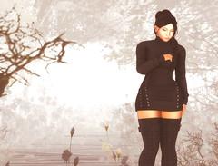Smoke and Mirrors (Pheebes Cheng) Tags: secondlife sl slphotography submissive virtualworld virtualphotography catwa catya maitreya truthhair ddlg