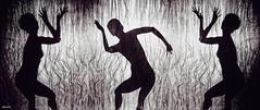 Yulunga! (2forArt) Tags: artistic shoot studio woman model posing dancing bw monochrome elegance flickrunitedaward