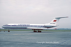 TUPOLEV TU134A CCCP-65785 AEROFLOT (shanairpic) Tags: jetairliner passengerjet tu134 tupolevtu134 shannon aeroflot cccp65785