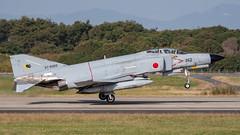 F-4EJ 57-8369 301 Squad 10-18-4106 (justl.karen) Tags: hyakuri japan 2018 jasdf f4ej 301squadron ibaraki phantom f4