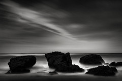 Pacific Transfiguration (StefanB) Tags: 2017 bw california clouds coast em5 geotag horizon outdoor pacific sea seascape pillarpoint mossbeach ocean