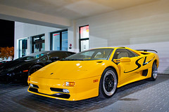 Lamborghini Diablo SV (amm6587) Tags: car auto exotic supercar yellow carbon carbonfiber fiber lambo lamborghini lamborghinidiablo lamborghinidiablosv lamborghinidiablosuperveloce diablo diablosv diablosuperveloce sv superveloce v12 classic nikon sarasota florida