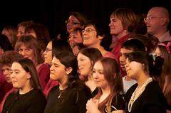 "081207_AnnieSnig_182 (hoffman) Tags: singing music choir performing performance anniemoreton davidhoffman davidhoffmanphotolibrary socialissues reportage stockphotos""stock photostock photography"" stockphotographs""documentarywwwhoffmanphotoscom copyright"