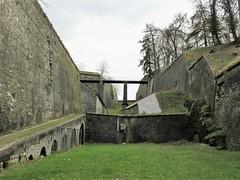 Passage between fortifications, Citadelle, Namur, Belgium (Paul McClure DC) Tags: namur namen belgium belgique wallonia wallonie feb2018 historic architecture castle citadel ardennes
