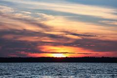 147-1 (Andre56154) Tags: schweden sweden sverige wasser water see lake himmel sky wolke cloud sonne sun sonnenuntergang sunset landschaft landscape