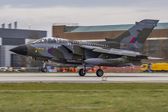 RAF Tornado GR.4 ZG752 Final Landing (Mark_Aviation) Tags: raf tornado gr4 zg752 final landing gr4t royal air force marham camo scheme paint special last flight farewell farewelltornado pa200 panavia aircraft military jet afterburner fast loud