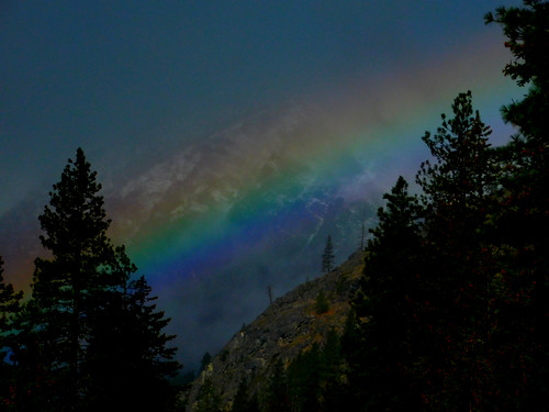 Rainbow Over 4th of July Mountain