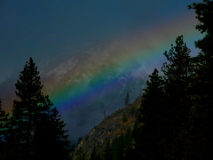 Rainbow Over 4th of July Mountain (Pictoscribe) Tags: pictoscribe fall icicle river november rainbow