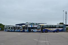 Translink Ulsterbus 2247 OEZ7247 - 299 OEZ7299 - 1733 EEZ6733 - 1696 TCZ1696 - 376 AFZ1376 - 188 AFZ5188 - 545 VEZ3545 - 1059 LFZ9059 - 248 OEZ7248 - 1063 LFZ9063 (Will Swain) Tags: ballymena 13th june 2018 bus buses transport travel uk britain vehicle vehicles county country ireland irish city centre north northern williamsdigitalcamerapics101 translink ulsterbus 2247 oez7247 299 oez7299 1733 eez6733 1696 tcz1696 376 afz1376 188 afz5188 545 vez3545 1059 lfz9059 248 oez7248 1063 lfz9063