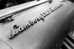 Lamborghini (uluqui) Tags: canon 6d 6dmkii fullframe 35mm noiretblanc black white motor car voiture lamborghini