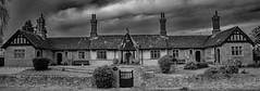 Helpston Almshouses B&W.jpg (uplandswolf) Tags: helpston almshouse cambs cambridgeshire