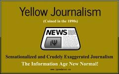 Anglų lietuvių žodynas. Žodis yellow journalism reiškia geltona žurnalistikos lietuviškai.