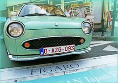 Nissan, Rétrofolies 2018 de Spa, Belgium (claude lina) Tags: claudelina belgium belgique belgië spa rétrofolies rétrofolies2018spa auto voiture car véhicule oldcar vieillevoiture nissan
