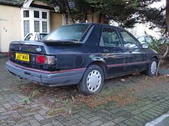1991 Ford Sierra Sapphire 1.8 GLX (Neil's classics) Tags: vehicle 1991 ford sierra sapphire 18 glx abandoned car