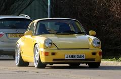 J598 GAH (Nivek.Old.Gold) Tags: 1992 porsche 911 3600cc 965