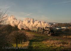 Broadfield light (Matt.Evans44871) Tags: elr east lancashire railway 44871 lms black 5 steam train locomotive rawtenstall bury ramsbottom heywood new years 2019