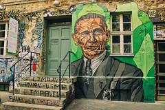 Otto Weidt... (JuliSonne) Tags: streetart urbanekunst mauer wall graffiti colors scene urban pasteup stencil street berlin schwarzenberghã¶fe lakeoner ottoweidt schwarzenberghöfe