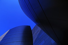 In the Blues (alestaleiro) Tags: blue architecture gehry abstract alestaleiro