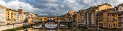 85mm Ponte Vecchio pano (sassiitalytours) Tags: florence firenze italia italy arno pano nikond810 nikon ponte vecchio pontevecchio