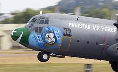 C-130 Hercules (Bernie Condon) Tags: c130 hercules lockheed martin military airlift transport cargo tactical pakistanairforce pakistan riat airtattoo tattoo ffd fairford raffairford airfield aircraft plane flying aviation display airshow uk