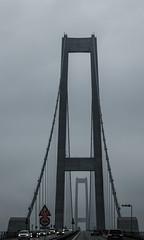 Storebælt Brofæstet (BÖ) Tags: storebælt brofæstet brückenpfeiler bridge abutment bro brücke dänemark danmark denmark fog nebel tåge