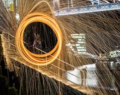 181005 A006 (steeljam) Tags: steeljam nikon d800 lightpainters london bridge wire wool